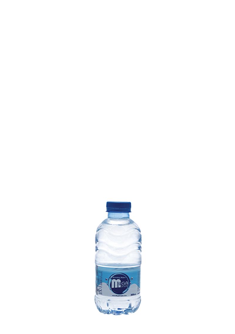 بطری آب معدنی سیصد سی سی مگادریزل
